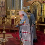Митрополит Агафангел совершил Акафистное пение перед иконой «Касперовской» Божией Матери